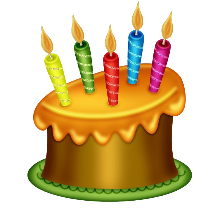 Birthday Cake PNG Transparent Images.