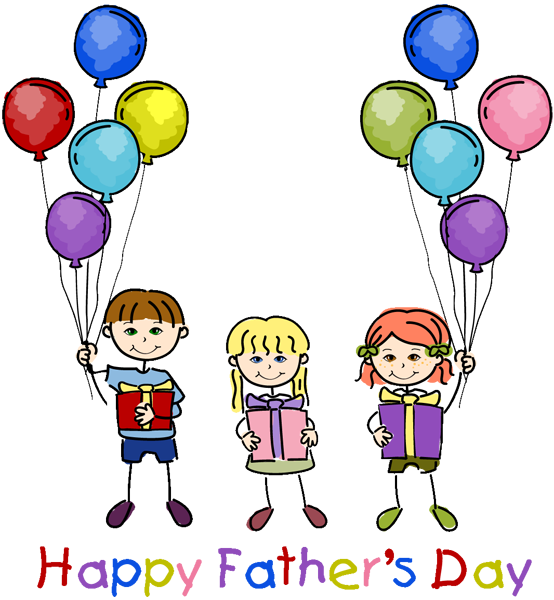 happy fathers day dad clipart