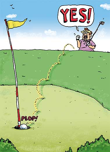 Father\'s Day Ecards Golf, Funny Ecards Free Printout Included.