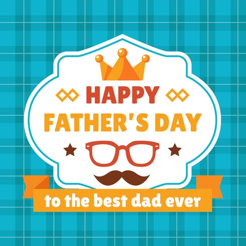 Happy Father\'s Day Badges.