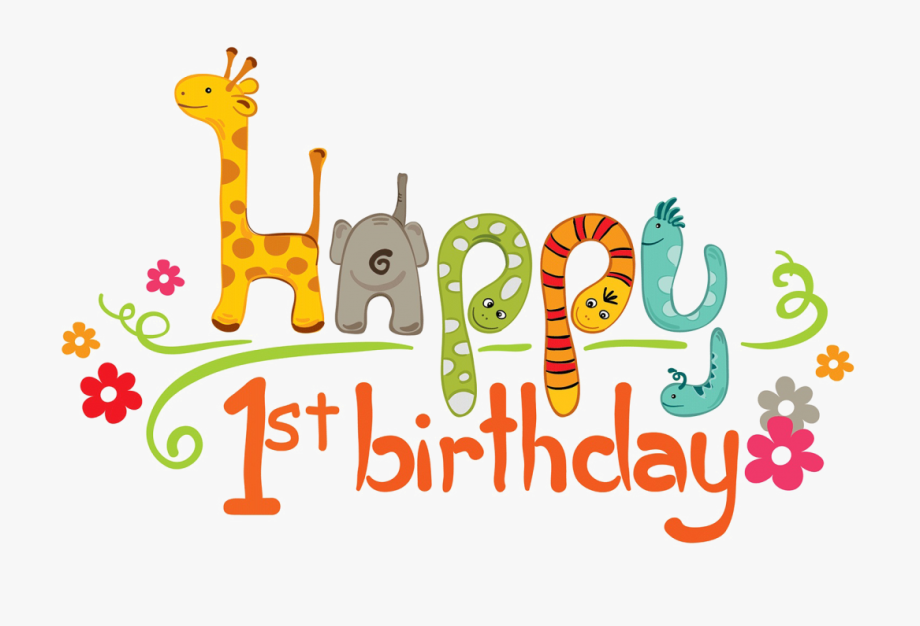 1st Birthday Png.