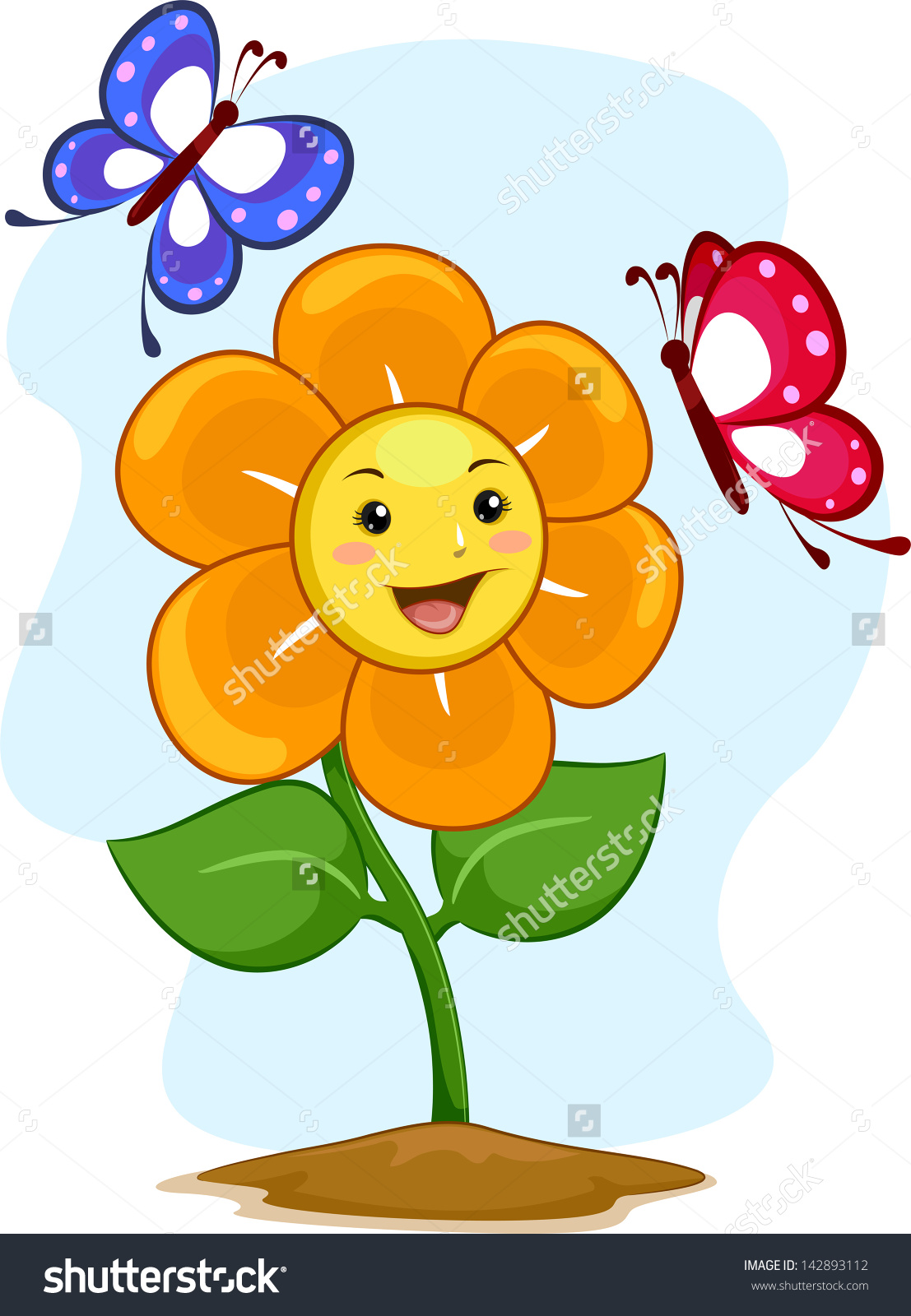 Showing post & media for Flower happy cartoon.