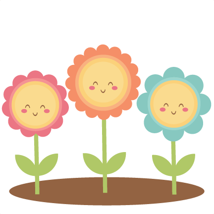 Happy Flower Clipart Images.