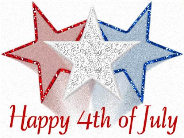 Free Fourth 4th Of July Myspace Clipart Graphics, Fourth Of July.