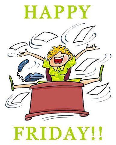 Clipart Happy Friday.