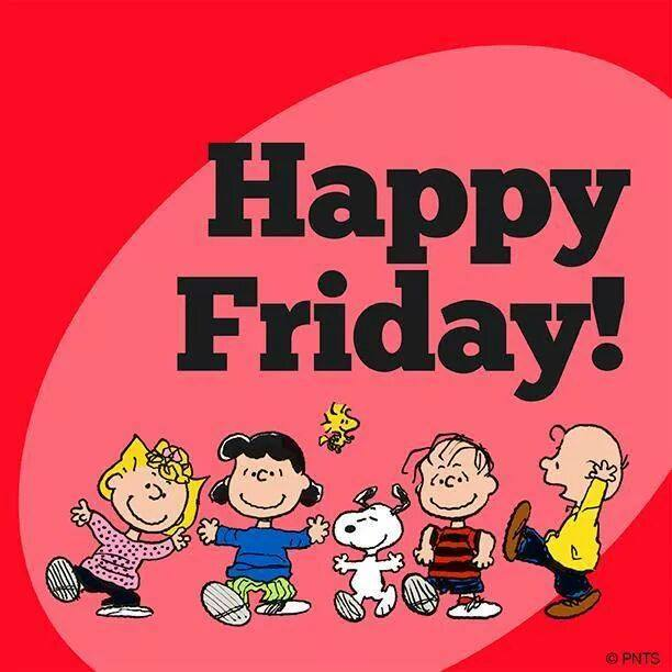 Happy Friday Clipart And Quotes.