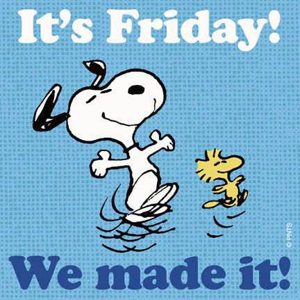 Free happy friday clipart image.