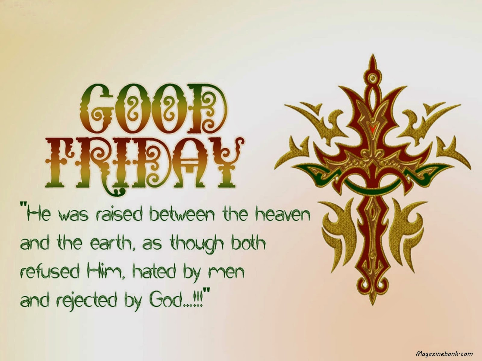 Happy Good Friday 2015: Good Friday 2015 Clipart and Images.