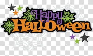 Halloween s, happy Halloween transparent background PNG.