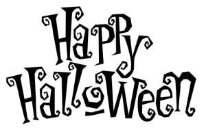 happy halloween clipart black and white - Clipground