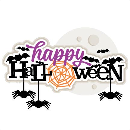 Cute happy halloween graphics