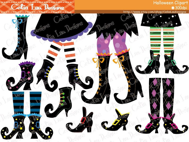 HALLOWEEN Clipart Happy Halloween Smiley Face Digital.