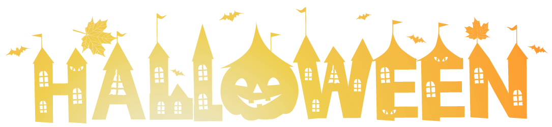 Transparent Deco Happy Halloween PNG Clipart.