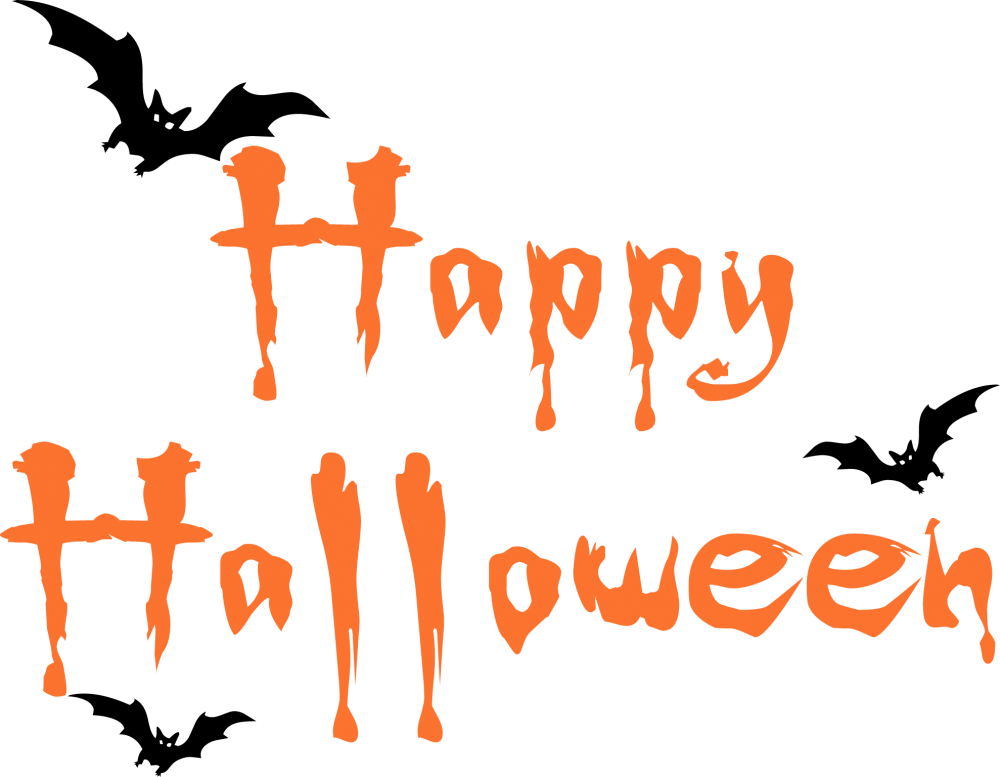 Download Happy Halloween Text PNG Image For Designing Purpose.