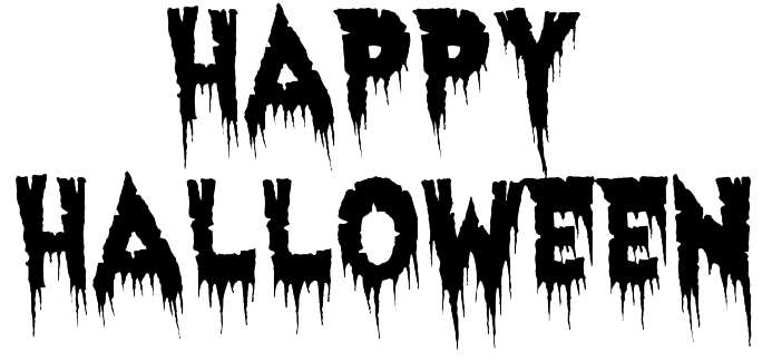 Download Free png Happy Halloween Text Transparent Background.