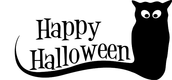 Happy Halloween Text PNG Pic.