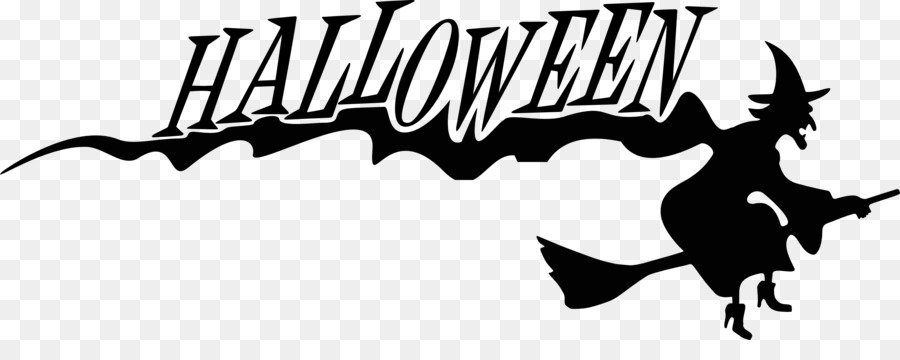 Halloween Party Text png download.