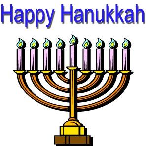 happy hanukkah clipart #7