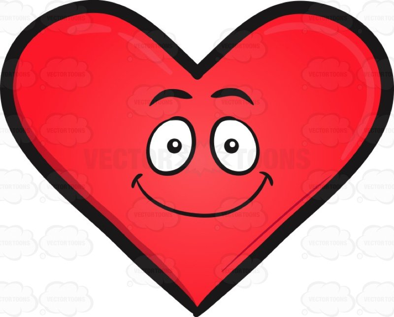 Happy heart clipart » Clipart Station.