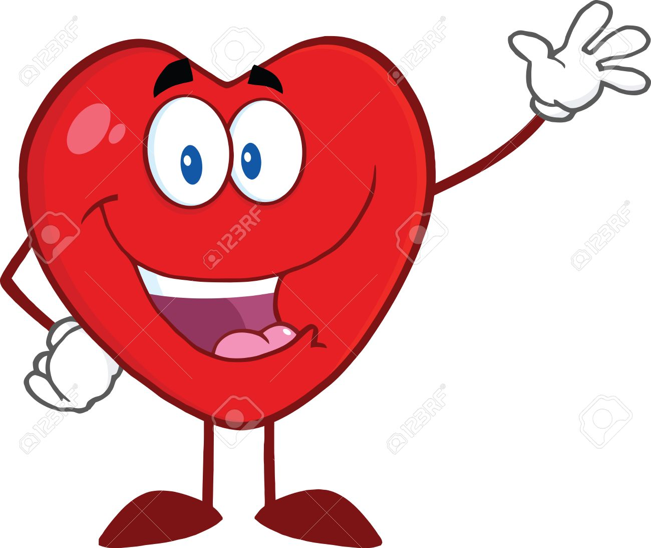 Happy heart clipart 1 » Clipart Station.