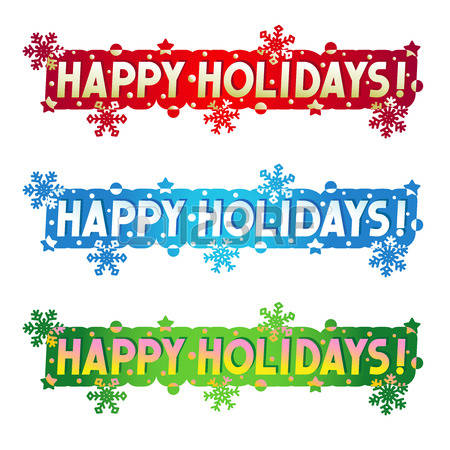 227,226 Happy Holidays Banner Stock Vector Illustration And.