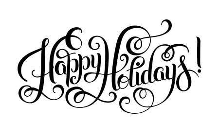 Happy holidays black and white clipart 5 » Clipart Portal.