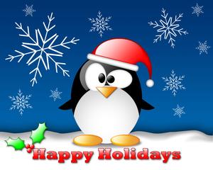Happy holidays free clip art.