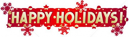 Happy Holidays Free Clip Art, Happy Holiday Free Clipart.