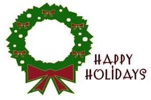 Happy holidays holiday clip art free transparent free clipart.