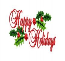 Clipart Happy Holidays & Happy Holidays Clip Art Images.