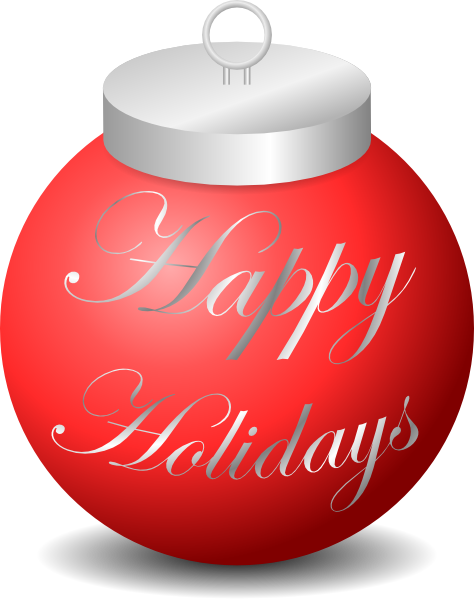 Images Of Happy Holidays Clipart.
