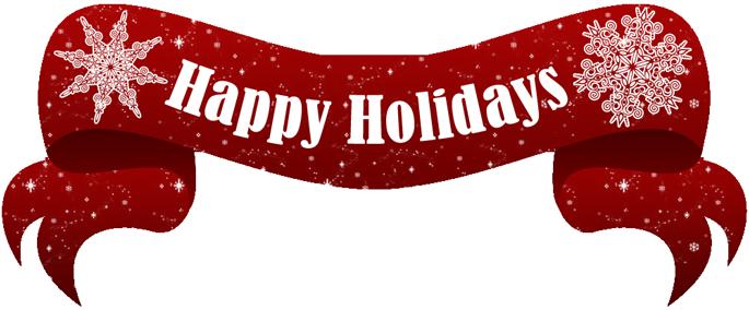 Happy holidays Logos.