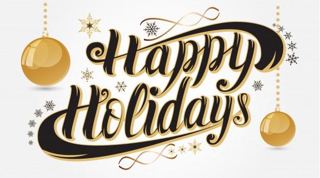 Happy Holidays Vectors, Photos and PSD files.