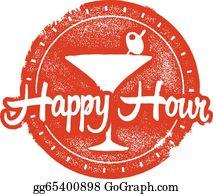 Happy Hour Clip Art.