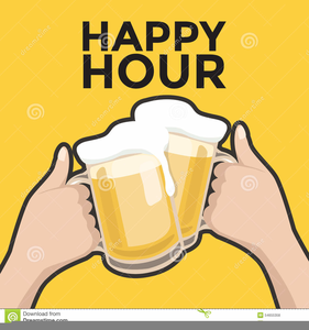 Happy Hour Clipart Images.