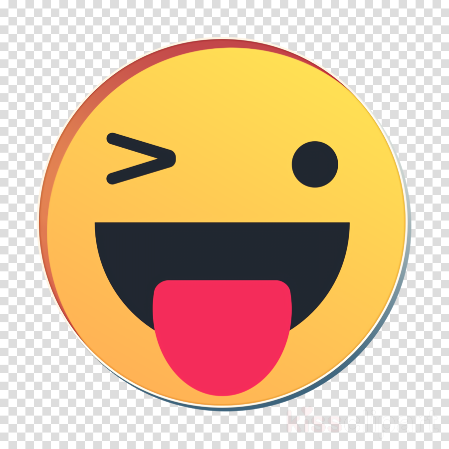 emoticon happy icon reaction icon clipart.