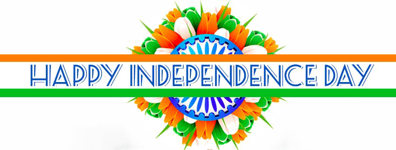 Happy Independence Day PNG Transparent Images.