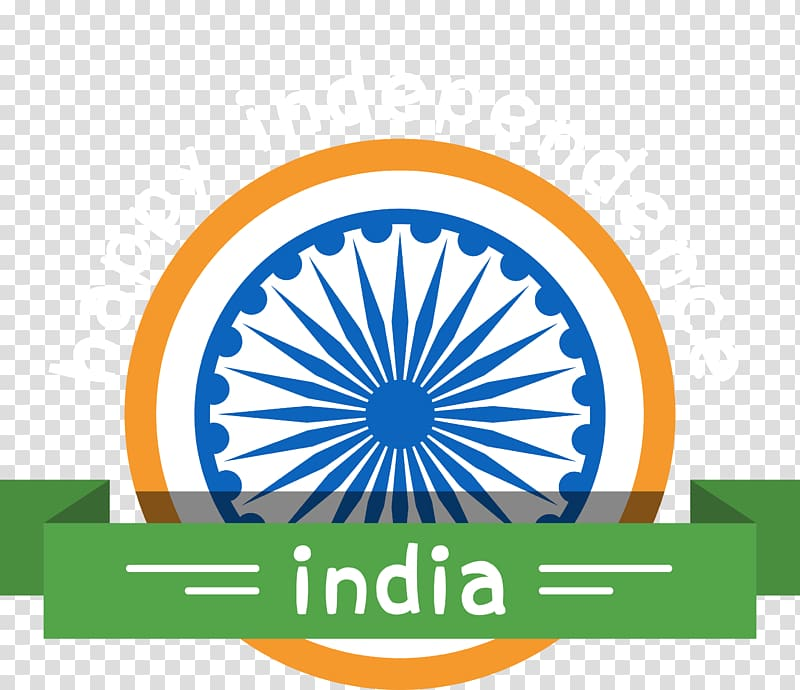 Happy Independence India log, Indian independence movement.