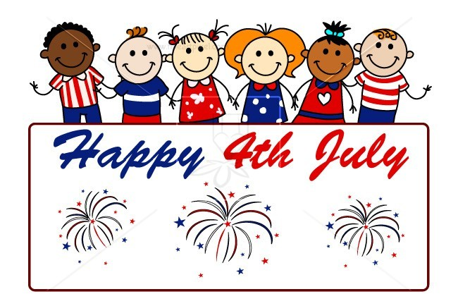 Happy July 4th kids.