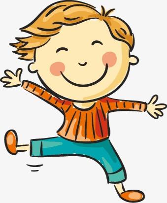 Happy Children, Children Clipart, Children Jumping PNG Transparent.