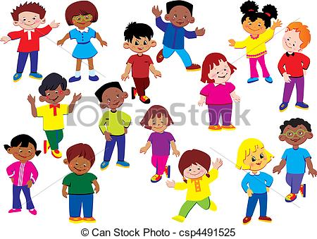 Happy kids Clip Art Vector Graphics. 130,655 Happy kids EPS.