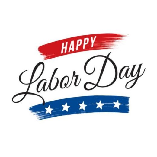 Happy Labor Day Clipart 2019 With Free Images Black And White.