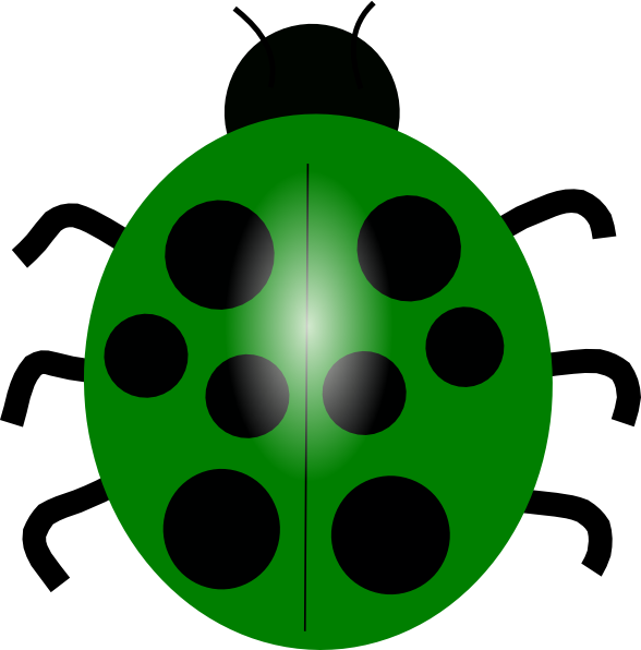 Green Ladybug Clipart , Transparent Cartoon.
