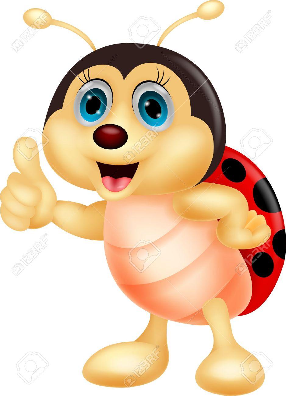 2190 Ladybug free clipart.