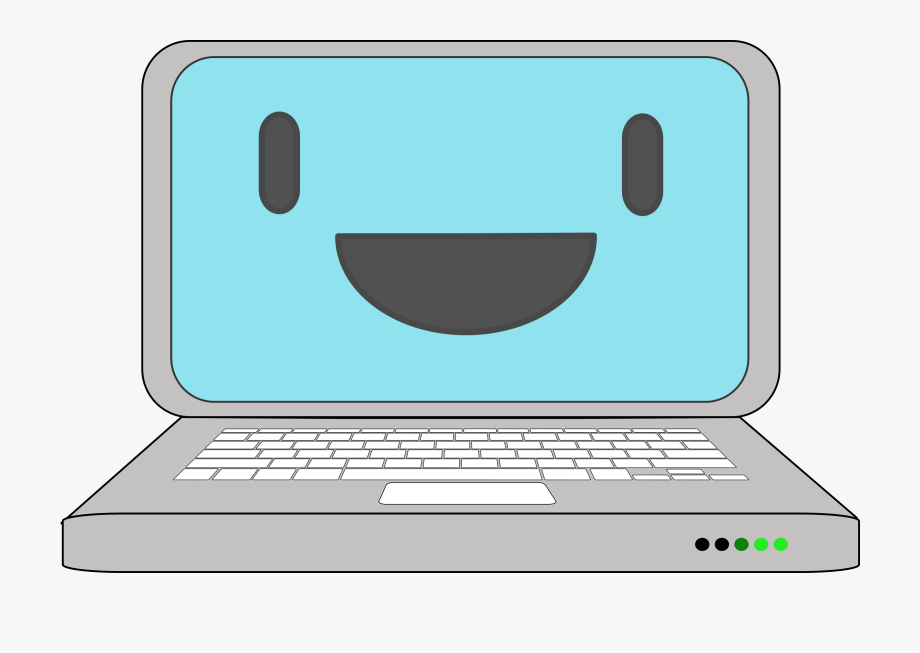Happy Computer Laptop Icons Png.
