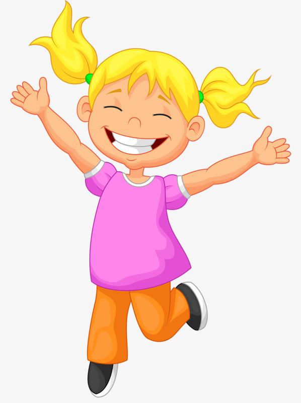 10478 Little Girl free clipart.