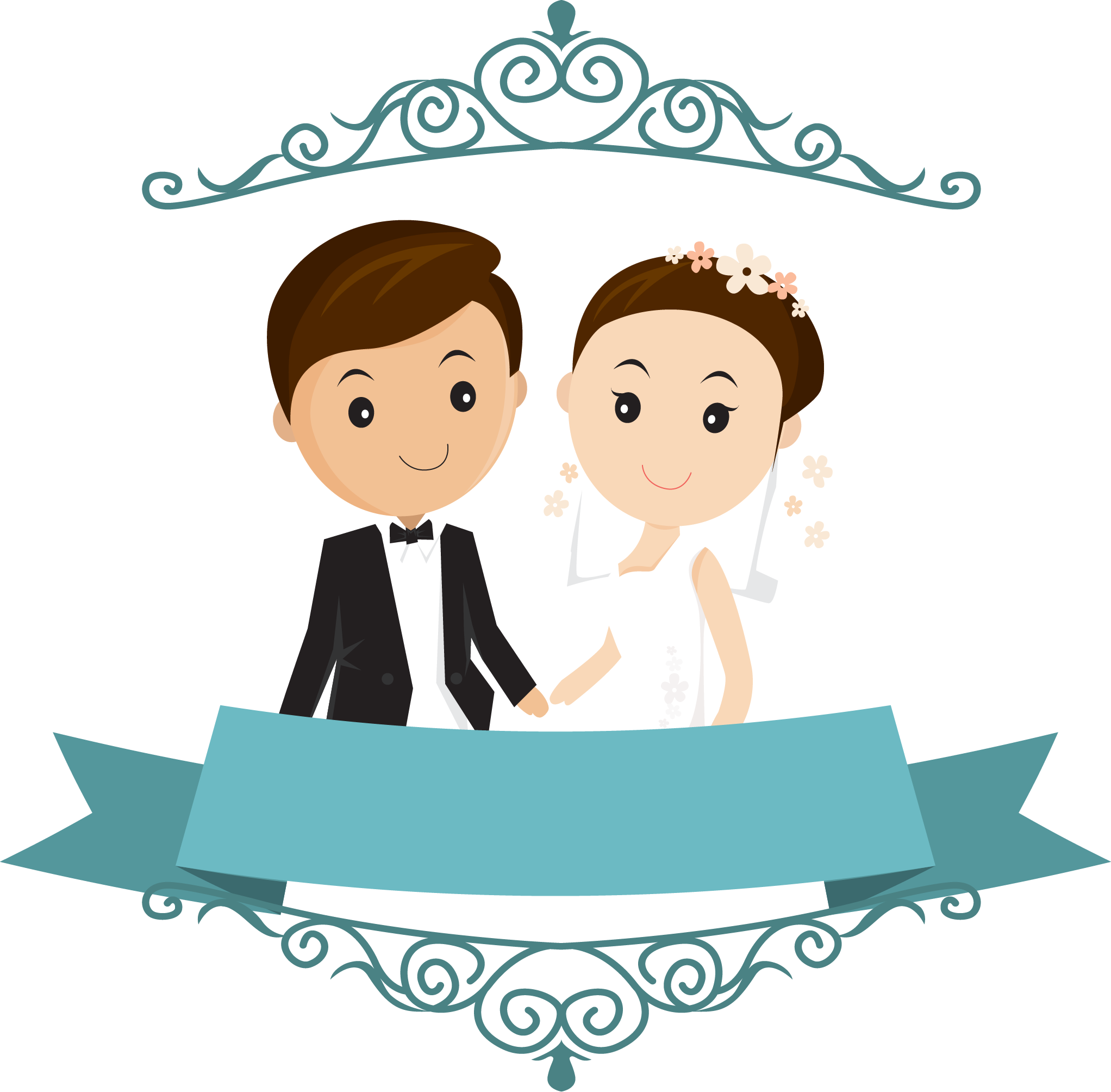 Happy Wedding Clipart Png.