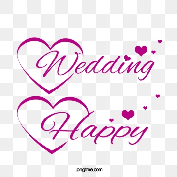 Happy Marriage PNG Images.