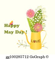 May Day Clip Art.