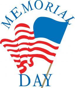 Happy Memorial Day Clipart.